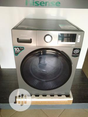 Hisense Washer & Dryer (10kg Washer & 7kg Dryer) | Home Appliances for sale in Lagos State, Agege