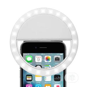 Led Light Mobile Phone Selfie Ring Light Flash - White   Accessories for Mobile Phones & Tablets for sale in Lagos State