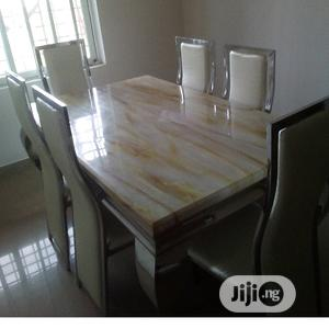 Brand New Marble Dining Table | Furniture for sale in Lagos State, Epe