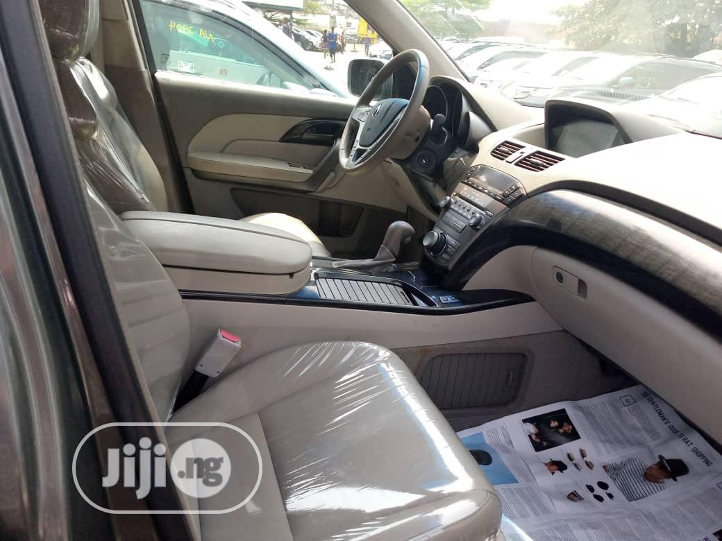 Acura MDX 2009 SUV 4dr AWD (3.7 6cyl 5A) Gray   Cars for sale in Apapa, Lagos State, Nigeria