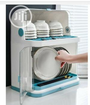 16inches Elegant 2 Tier Plate Rack With Cover   Kitchen & Dining for sale in Akwa Ibom State, Uyo