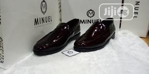 Wine Patent Penny Loafers | Shoes for sale in Lagos State, Mushin