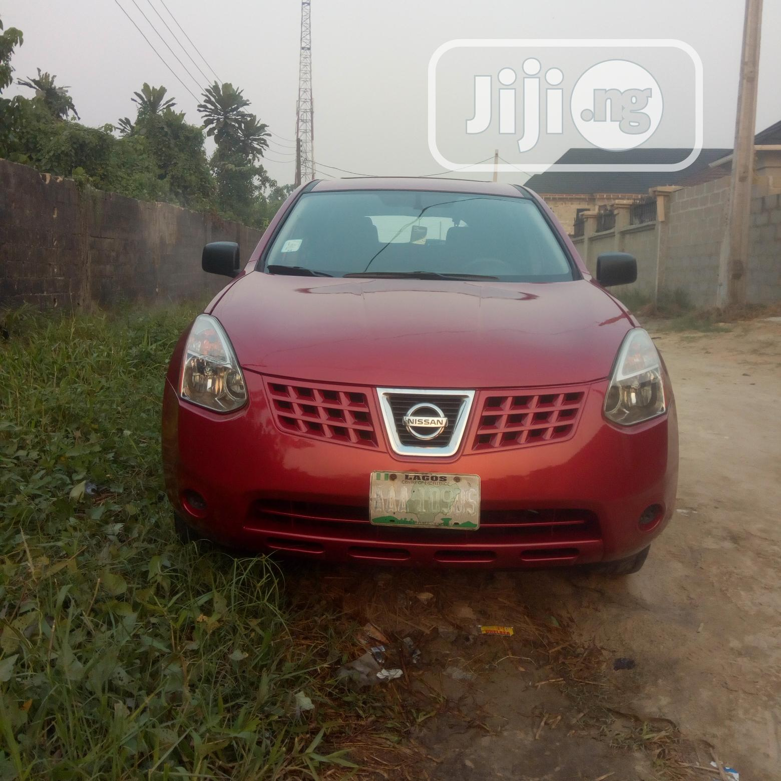 Nissan Rogue 2008 SL 4WD Red
