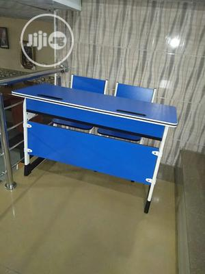 Double Sitter Reading Table   Children's Furniture for sale in Lagos State, Amuwo-Odofin