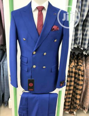 Blue Turkish Brands Double Breasted Suits by MC   Clothing for sale in Lagos State, Lagos Island (Eko)