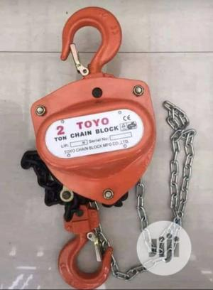 Chain Block of Different Tons and Meters | Manufacturing Equipment for sale in Lagos State, Lagos Island (Eko)