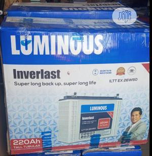 Luminus 220ah 12v Tubular Battery | Solar Energy for sale in Lagos State, Ojo