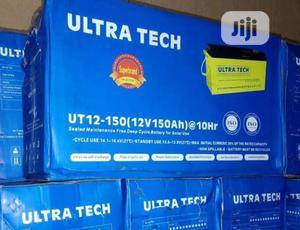 Ultra Tech 150ah 12v Battery   Solar Energy for sale in Lagos State, Ojo