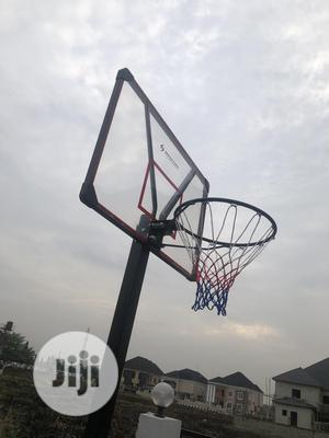 Fiber Glass Basketball Stand   Sports Equipment for sale in Lagos State, Apapa