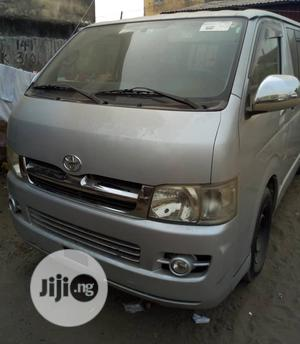 Toyota Hiace Petrol 2012 Silver | Buses & Microbuses for sale in Lagos State, Ojo