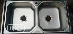 Double Bowl Kitchen Sink | Restaurant & Catering Equipment for sale in Lagos State, Amuwo-Odofin