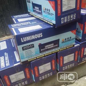 200ah 12volt Luminous Deep Cycle Solar Battery   Solar Energy for sale in Lagos State, Ikeja