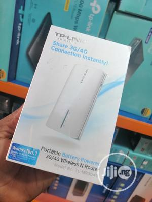 Tp-link Portable 3G/4G Wireless N Router TL-MR3040 | Networking Products for sale in Lagos State, Ikeja