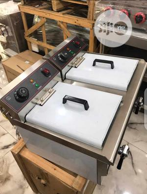 Electric Deep Fryer 7liters Double Basket | Kitchen Appliances for sale in Lagos State, Ojo