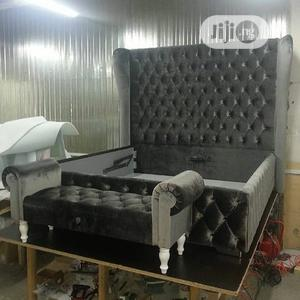 Upholstered Bed Frame | Furniture for sale in Lagos State, Lekki