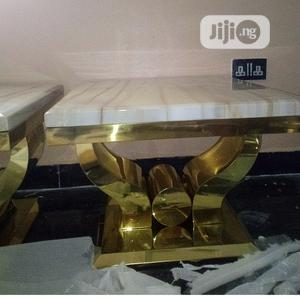 Marble Center Table Side Stools | Furniture for sale in Lagos State, Epe