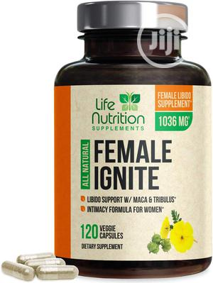 Female Libido Support Pills With Maca, Tribulus & Horny Goat Weed 1 | Sexual Wellness for sale in Lagos State, Ipaja