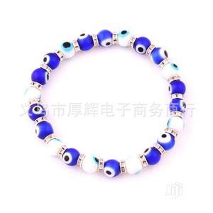 Glass Bead Blue Eyes Bracelet   Jewelry for sale in Rivers State, Port-Harcourt