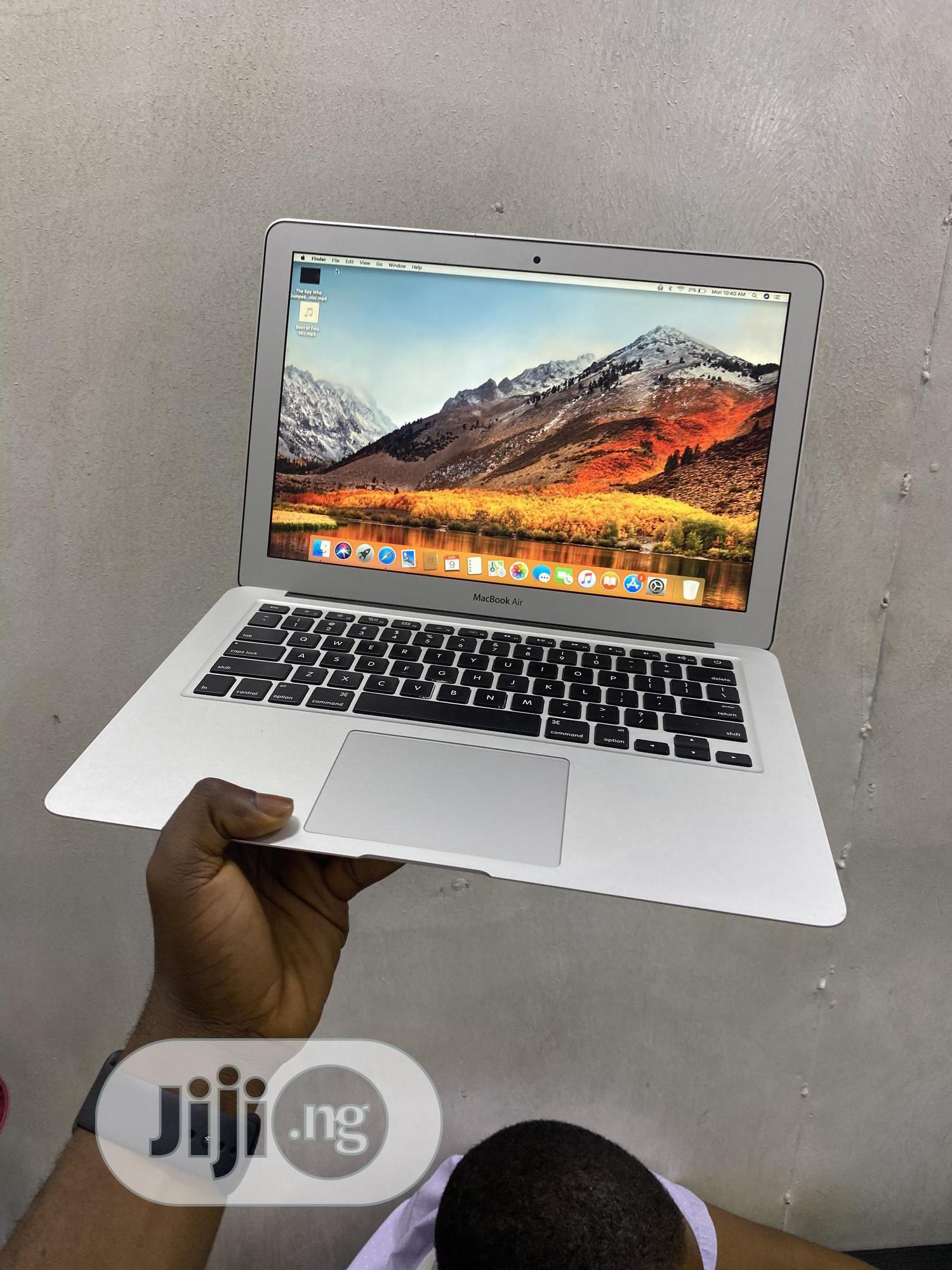Laptop Apple MacBook Air 8GB Intel Core i5 SSD 128GB   Laptops & Computers for sale in Ikeja, Lagos State, Nigeria