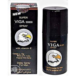 SUPER VIGA SPRAY Viga Strong 50000 Delay Spray (With Vitamin E)   Sexual Wellness for sale in Lagos State, Surulere