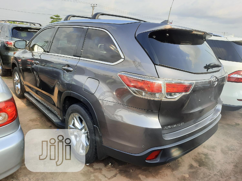 Toyota Highlander 2015 Gray   Cars for sale in Benin City, Edo State, Nigeria