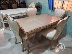Royal Wooden Dinning Table With Six Chairs | Furniture for sale in Lagos State, Magodo