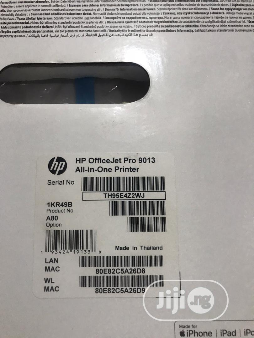Hp Officejet Pro 9013 All-in-one Printer | Printers & Scanners for sale in Ikeja, Lagos State, Nigeria
