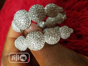 Round Blings Stoned Zirconia Earring | Jewelry for sale in Lagos State, Lekki
