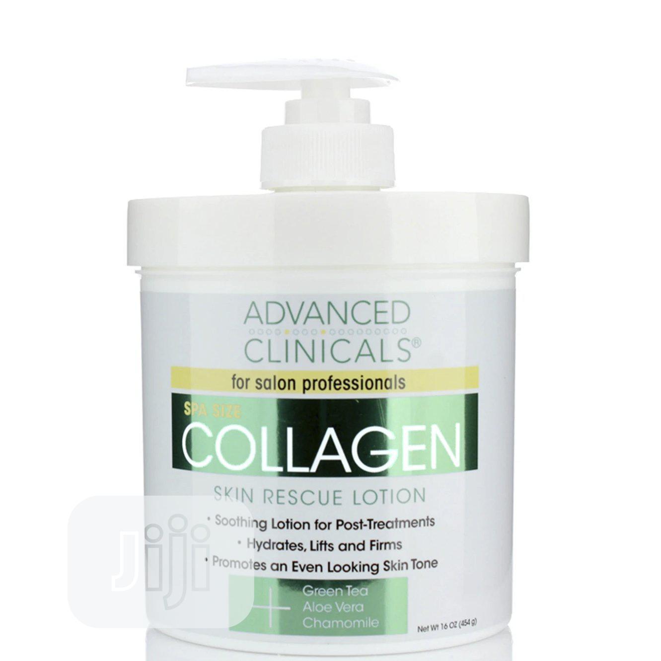 Advanced Clinicals Collagen Skin Rescue Lotion 16oz