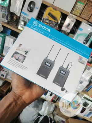 Boya UHF Dual Channel Wireless Microphone Systems BY-WM8 PRO-K1 | Audio & Music Equipment for sale in Lagos State, Ikeja
