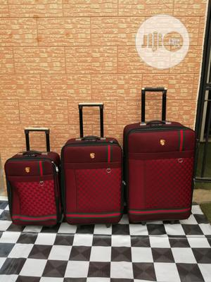 Travel Luggage Bags (3 Sets) of Ox Red Color   Bags for sale in Lagos State, Ikeja
