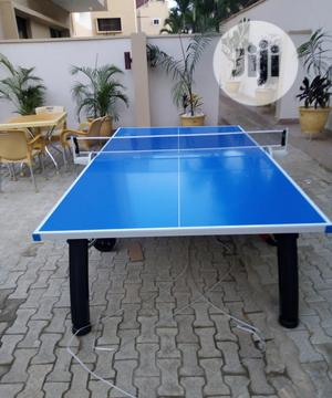 Brand New Outdoor Table Tennis Table Standard Sizes | Sports Equipment for sale in Ogun State, Ijebu Ode
