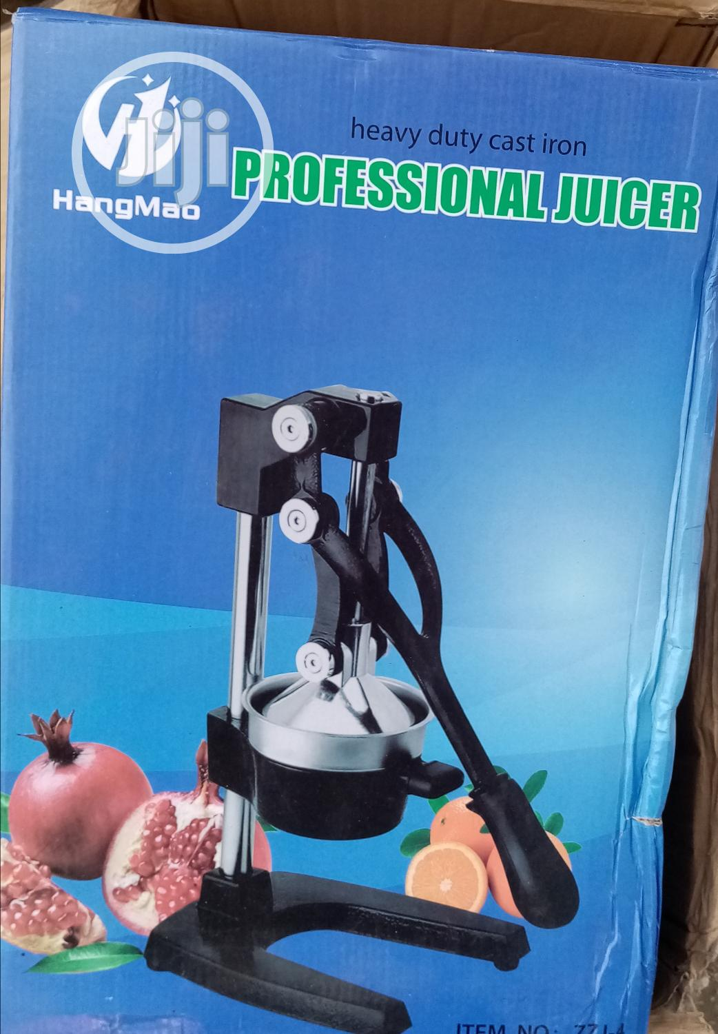Commercial Manual Juice Extractor