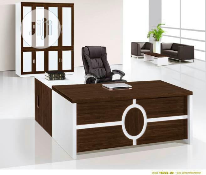 White Executive Table