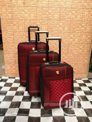 Luxury Designer Trolley Luggage Bags (3 Sets) For Female Use   Bags for sale in Lagos State, Ikeja
