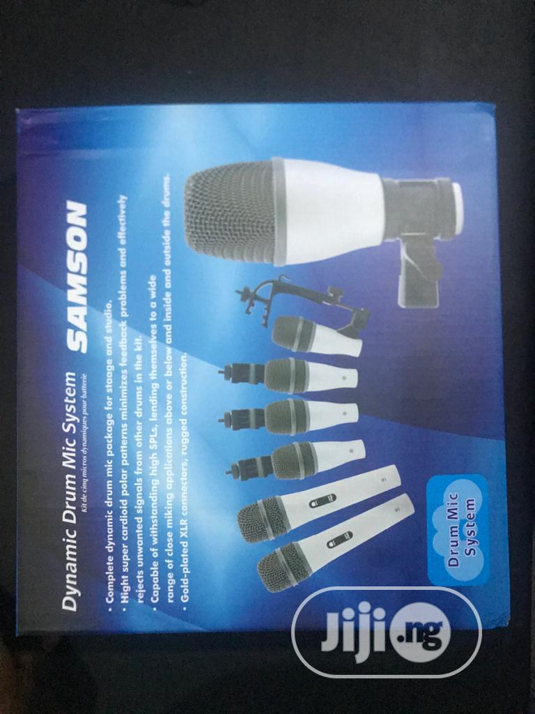 Samson Drum Microphone. 7 Sets