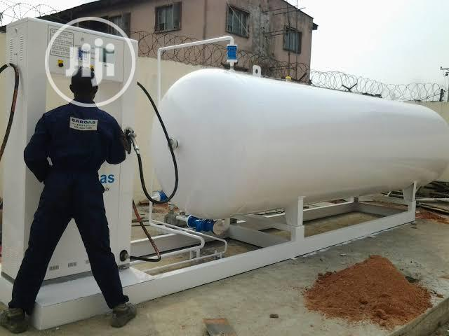LPG Gas Tank Full Installation And Delivery