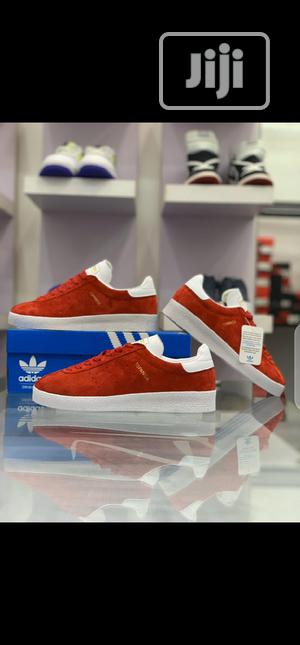 Adidas Topanga Clean(Red) Sneakers Original   Shoes for sale in Lagos State, Surulere