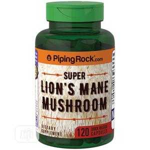 Piping Rock Super Lion's Mane Mushroom - 120 Caps   Vitamins & Supplements for sale in Lagos State, Alimosho