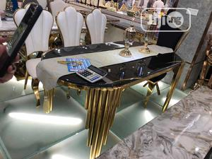 Executive Golden Glass Dining Table   Furniture for sale in Lagos State, Ojo