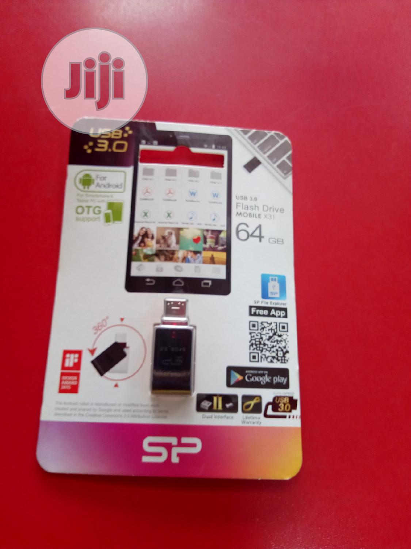 OTG Silicon Power,Flash Drive 64gb