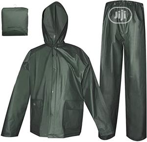 Shirtand Trouser PVC Raincoat Without Reflective (Green) | Clothing for sale in Lagos State, Ikeja