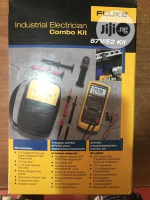 Fluke 87v/ E2 Kit Industrial Digital Multimeter   Measuring & Layout Tools for sale in Kano State, Fagge