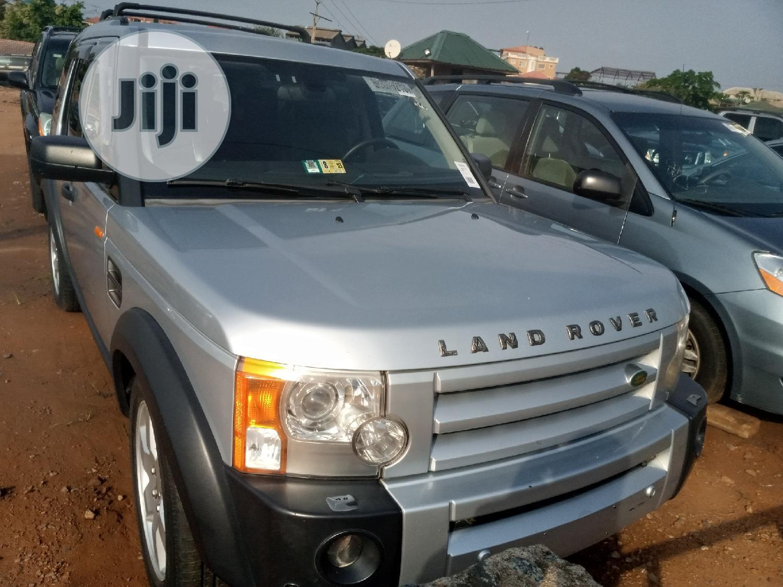 Land Rover LR3 2006 SE Silver
