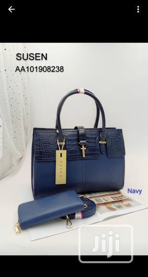 Susen Ladies Blue Handbag | Bags for sale in Lagos State, Amuwo-Odofin