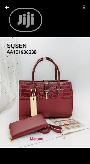 Classic Susan Ladies Red Handbag | Bags for sale in Lagos State, Amuwo-Odofin