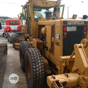 Tokunbo 140G Grader Wit Ripper Caterpillar Good Tyres Superb | Heavy Equipment for sale in Lagos State, Apapa