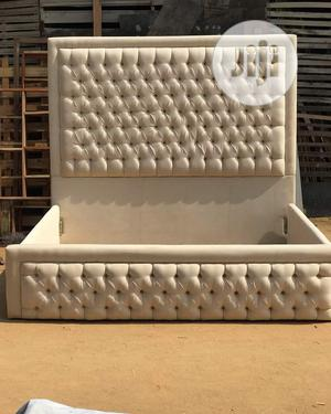Executive Classic Padded Bed Frame   Furniture for sale in Lagos State, Ikorodu