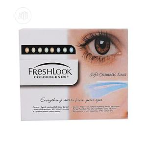 Fresh Look Colorblends Contact Lens Complete (All-in-one)- Honey   Skin Care for sale in Lagos State, Ojo