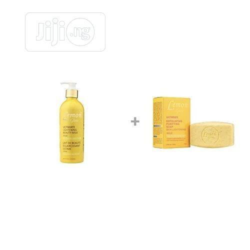 Lemon Glow Ultimate Lightening Beauty Milk and Soap